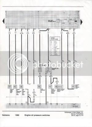 VWVortex  Scirocco (Canada Only) Complete Wiring diagram