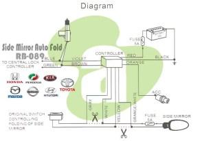 Side Mirror Auto FoldAuto Tilt Toyota VellfireAlphard 0814 | eBay