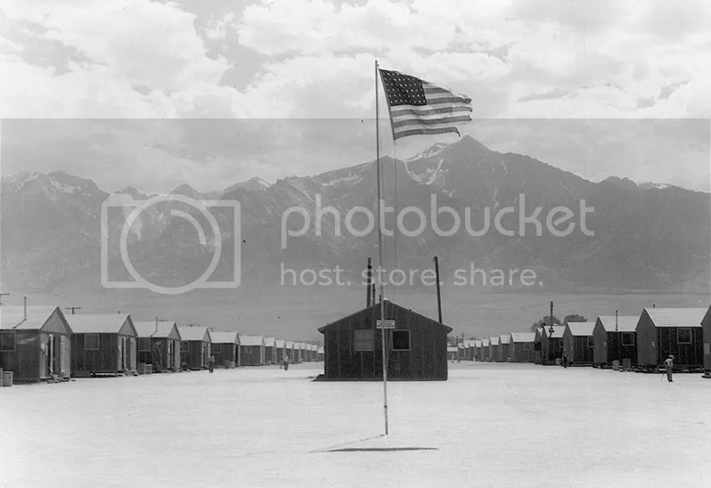 Campo de concentración de Manzanar, California.