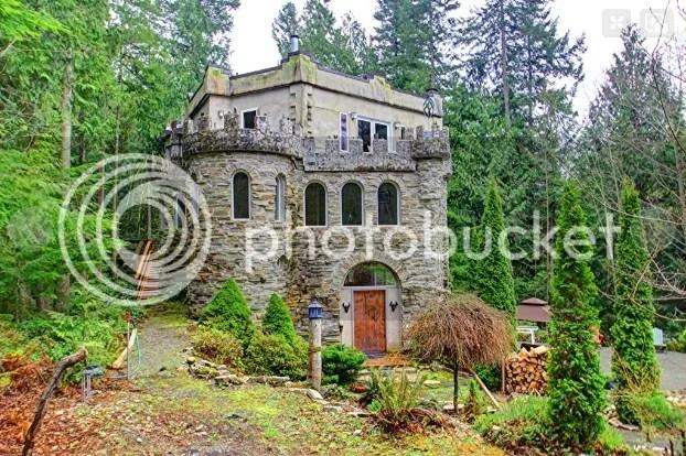 Exterior del castillo de Sedro-Woolley (Washington)