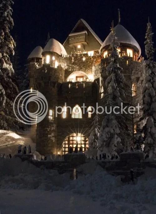 Castillo de Bonner (Idaho) que parece salido de Disney
