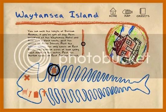 Mapa de Waytansea