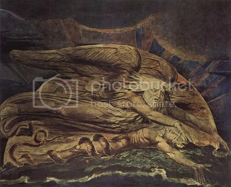 William Blake, Elohim Creating Adam.