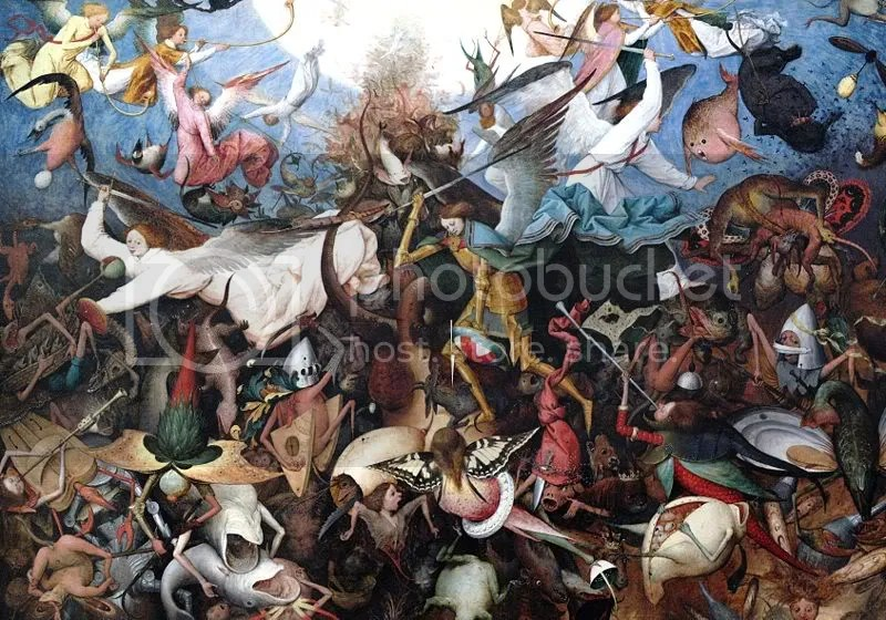 Pieter Bruegel, Fall of the Rebel Angels