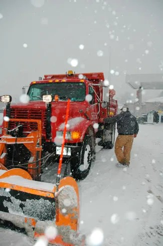 peoria snow
