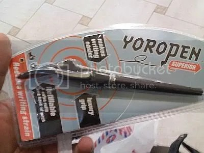 YOROPEN, reduces writing strain for both left & right handers
