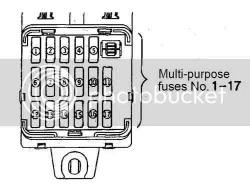 Mitsubishi Panel Eclipse Spyder Fuse 2007