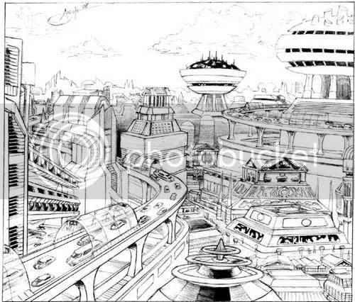 Atenas Cyberpunk
