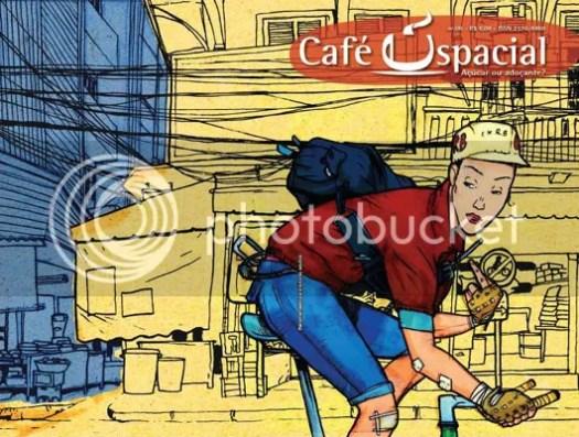 Capa da Café Espacial #06