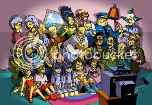 Simpsons em Mangá