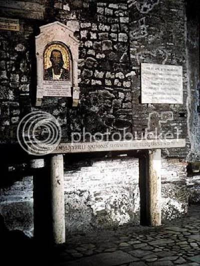 """Гробът на св. Константин-Кирил Философ в църквата """"Сан Клементе"""", Рим"""