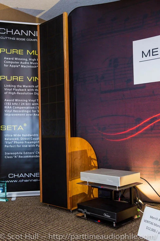 CAF 2013: Merrill Audio, Sanders Sound Labs, Channel D