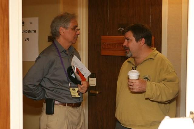 Joe Cohen of Pranawire and Chris Sommovigo of Stereolab