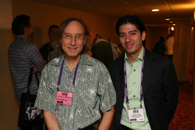 Steve Gutenberg and Sanjay Patel of Ciamara