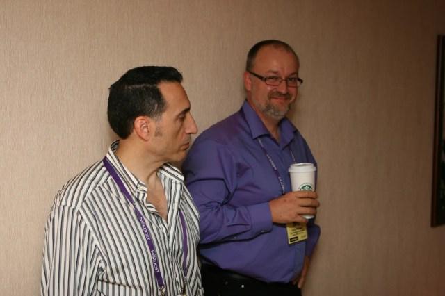 Daren Censullo of Avatar and Dr. Chris Feickert