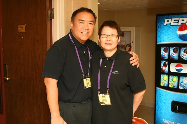 Dr Hsu and wife