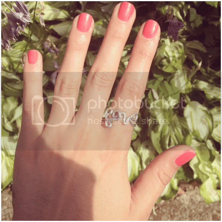 nail polish, diy, love, ring, summer, instagram