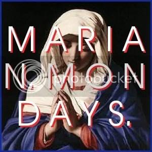 http://jizazito.blogspot.com/p/marian-mondays.html