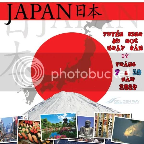 Tuyển Sinh Du Học Nhật Bản Kỳ Nhập Học Tháng 7 & 10 Năm 2014
