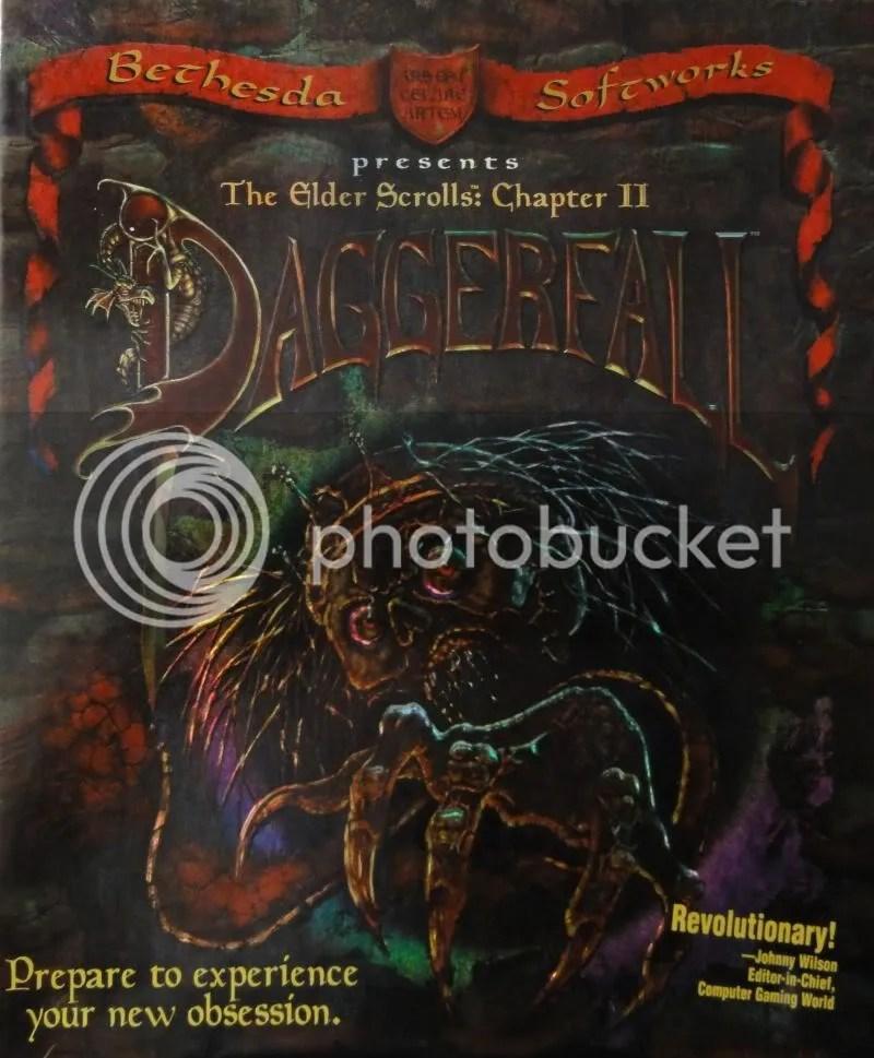 Daggerfall - Box front