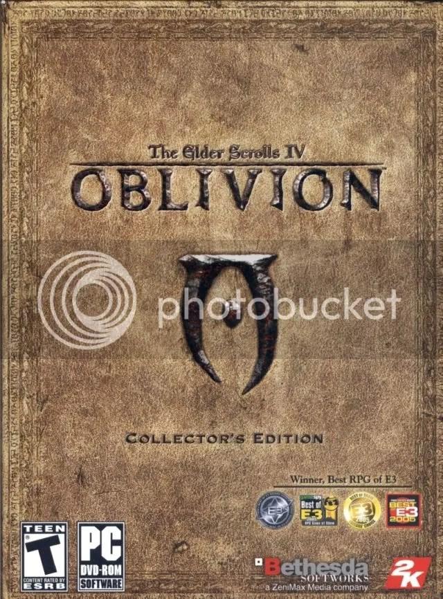 Oblivion - box front