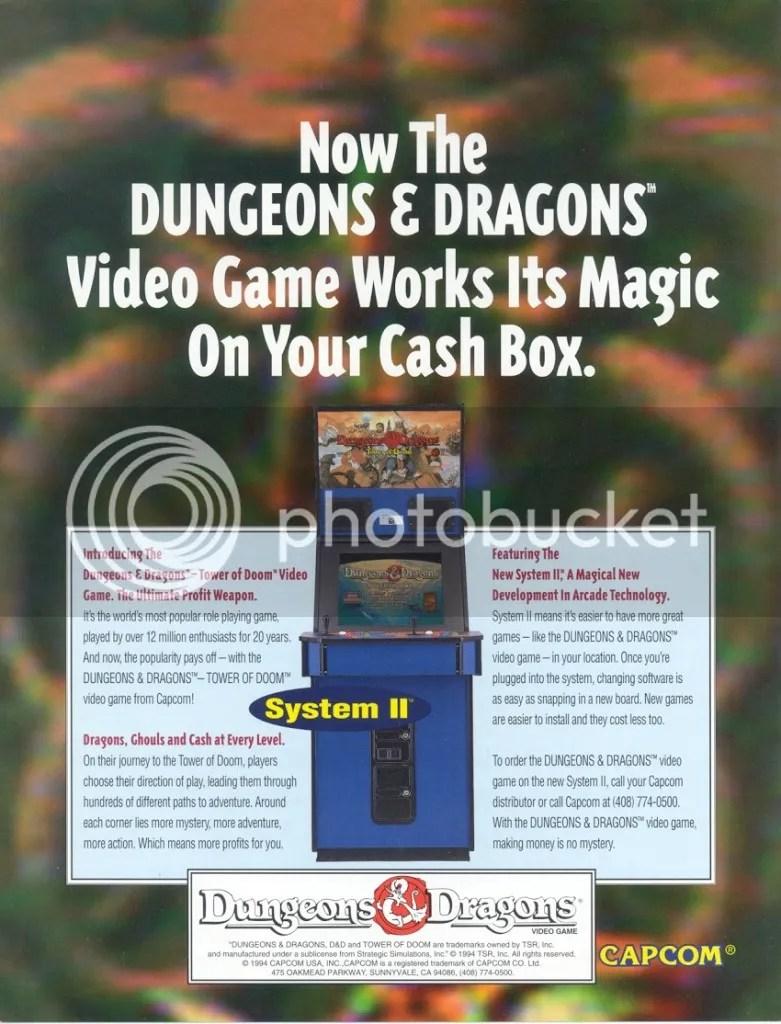 DnD Tower of Doom 1994 flyer