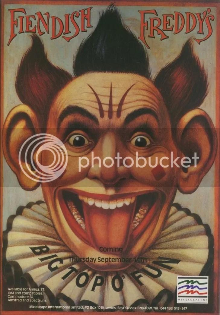 Fiendish Freddy's Big Top O'Fun 1989