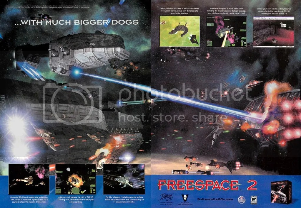 Freespace 2 2pg spread 1999