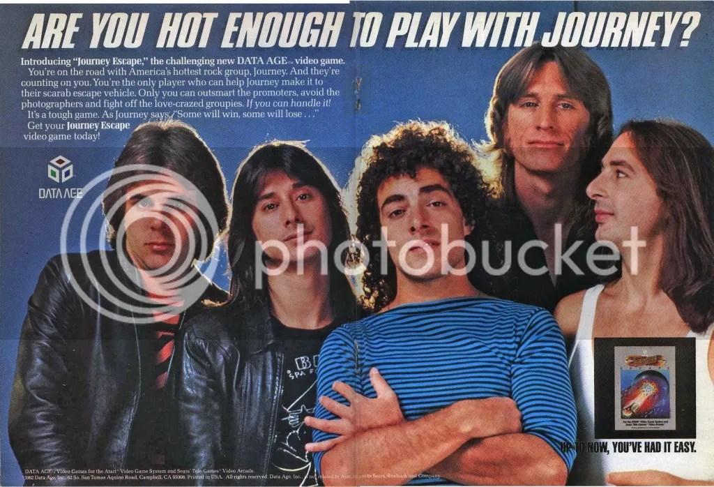 Journey Escape ad 1983
