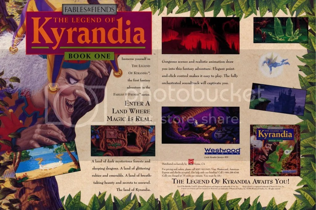 Legend of Kyrandia '92