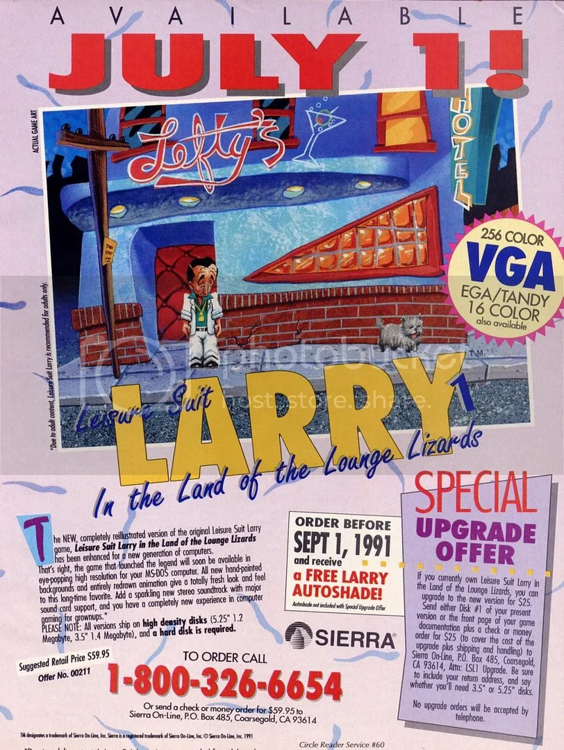Leisure Suit Larry 1991