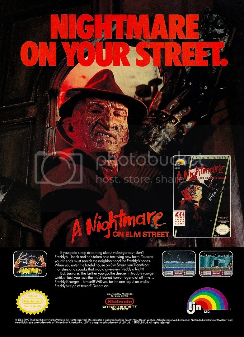 Nightmare on Elm Street 1990