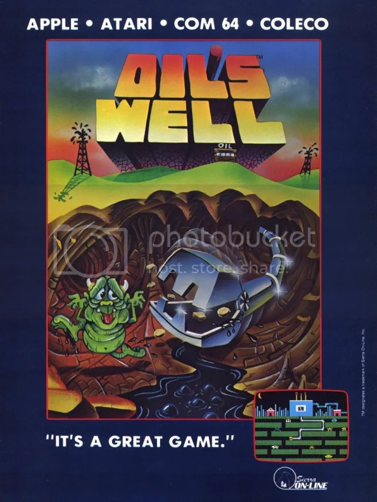 Oil's Well ad 1983