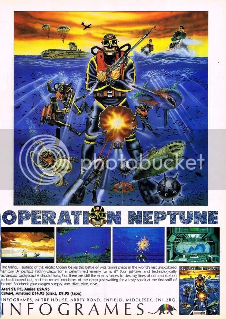 Operation neptune map