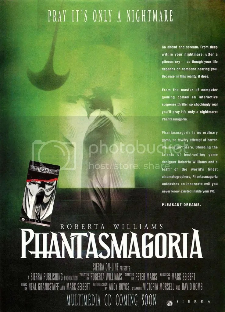 Phantasmagoria ad 1994