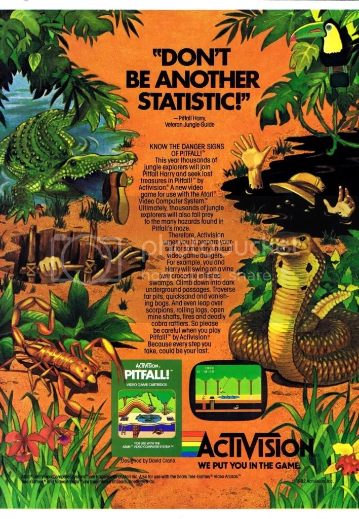 Pitfall! ad 1983