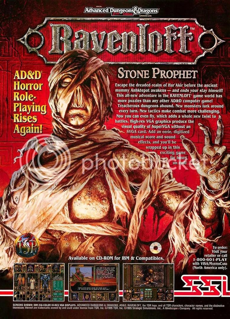 Ravenloft: Stone Prophet 1995
