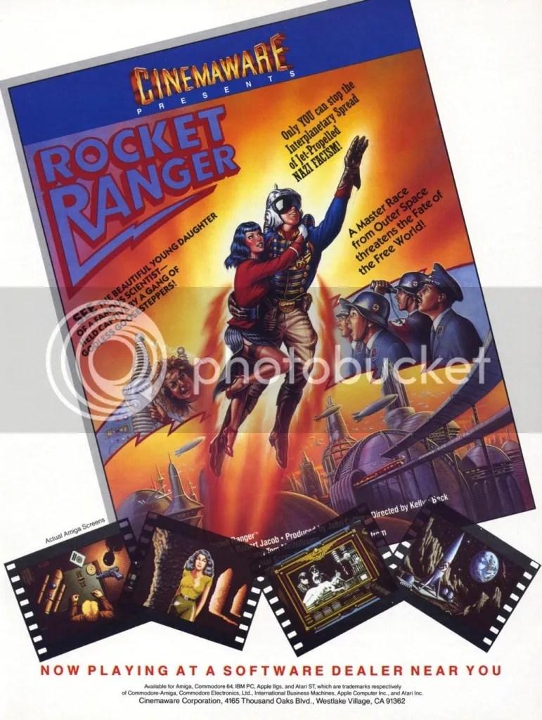 Rocket Ranger ad 1988