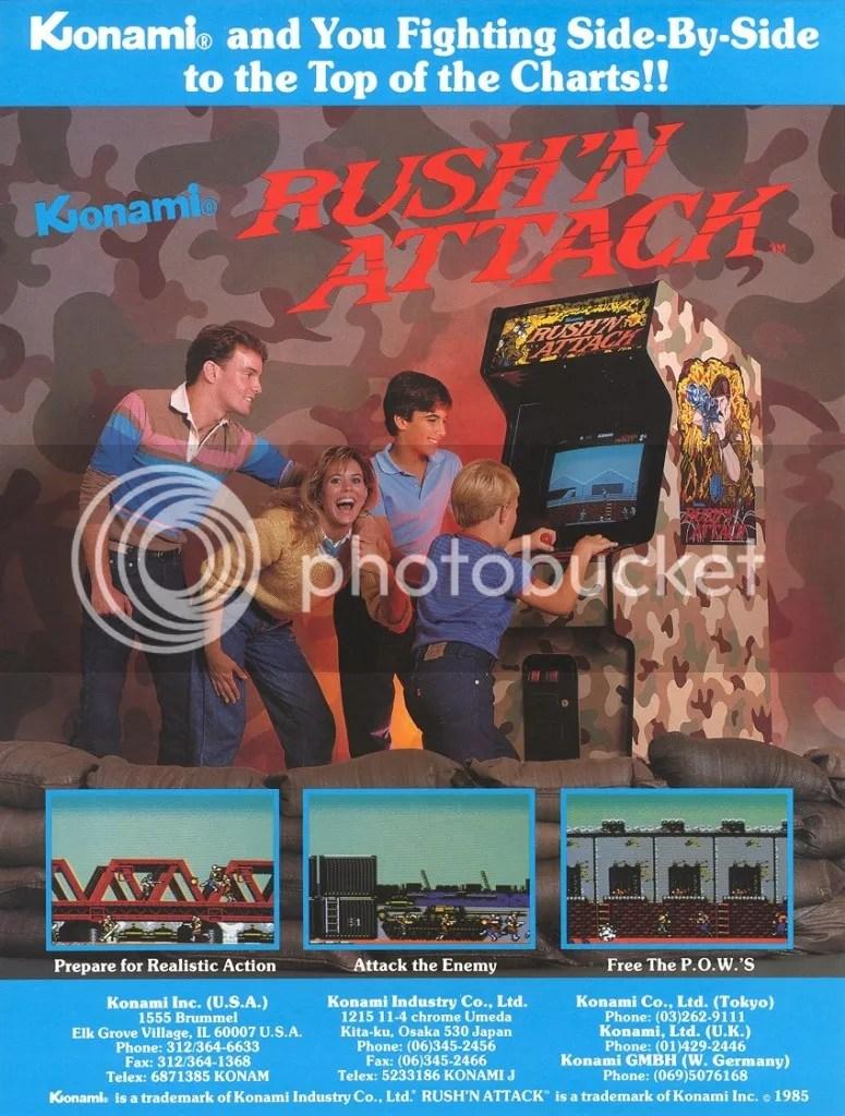 Rush 'n Attack 1985