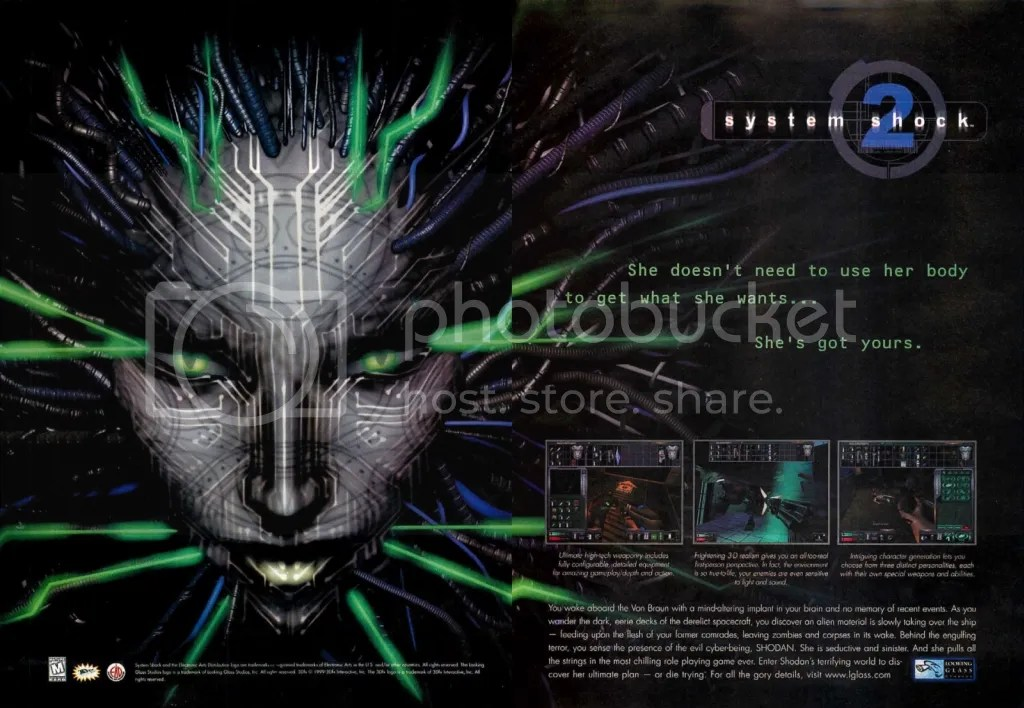 System Shock ad 1999