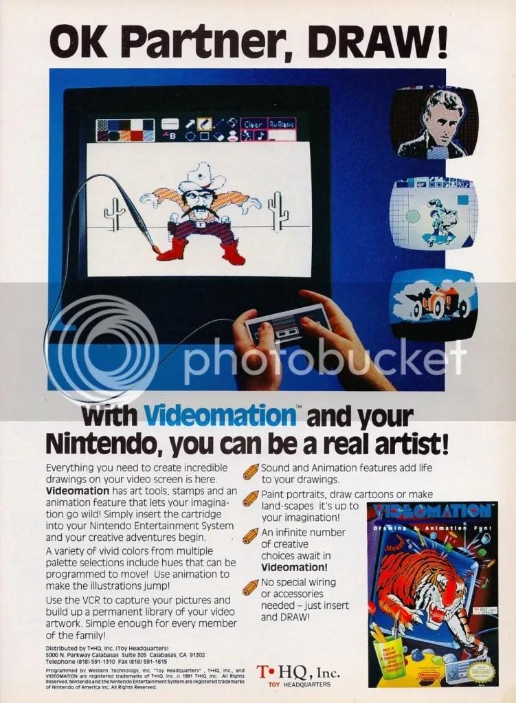 Videomation ad 1991