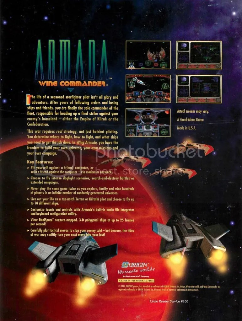 Wing Commander Armada 1994