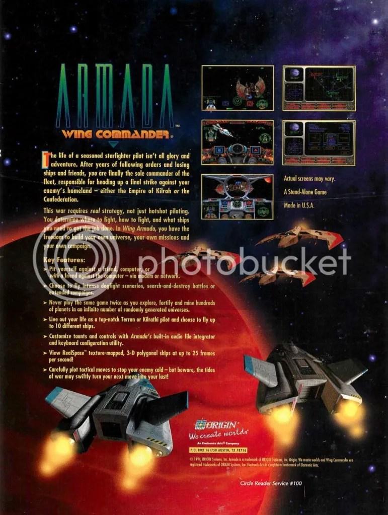 Wing Commander Armada 1994