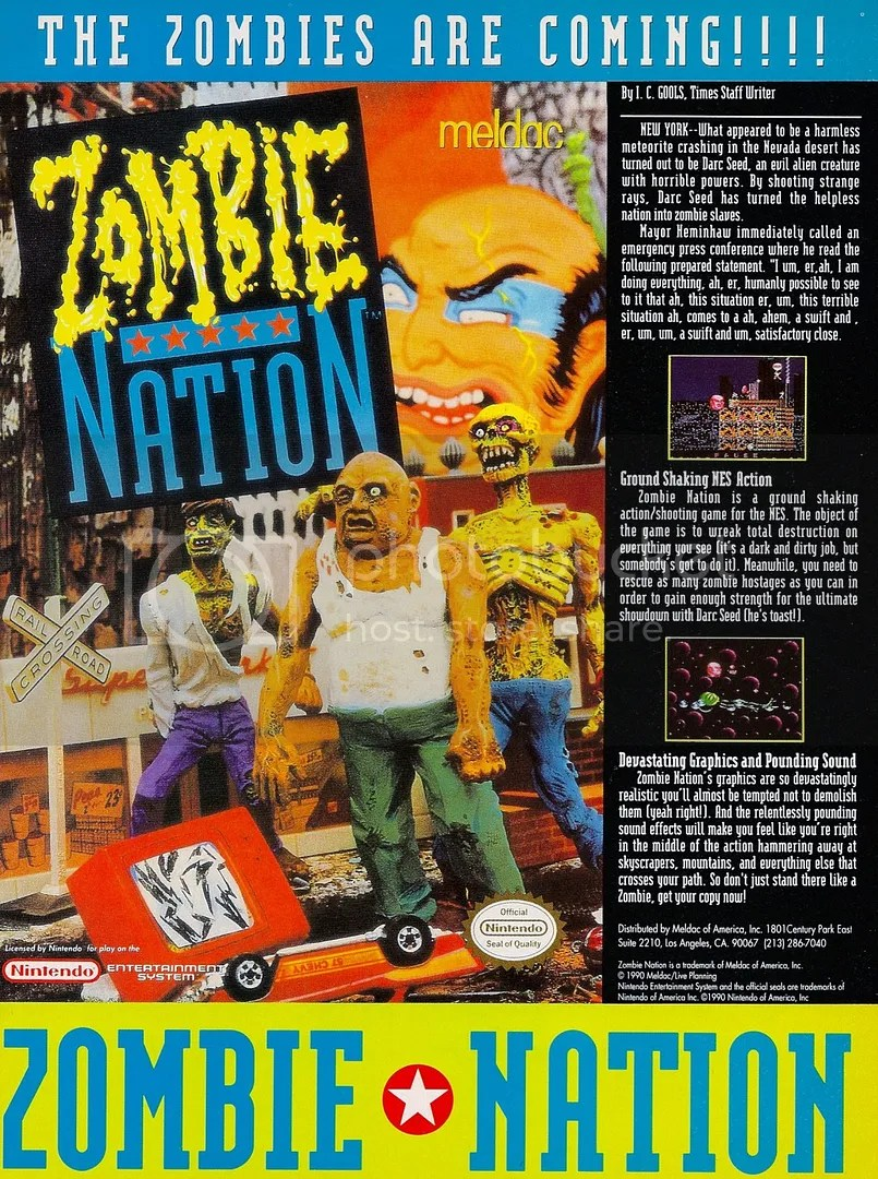 Zombie Nation 1990