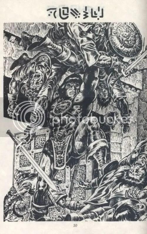 Conan the Cimmerian art excerpt
