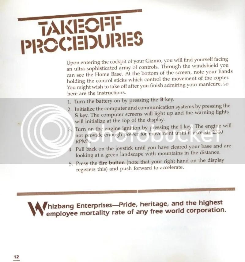 Infiltrator manual excerpt