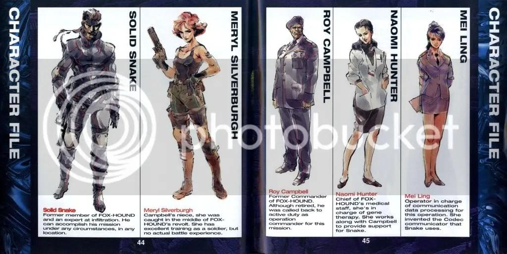 Metal Gear Solid excerpt