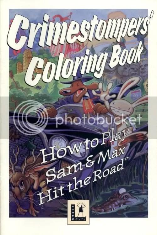 Sam & Max manual cover
