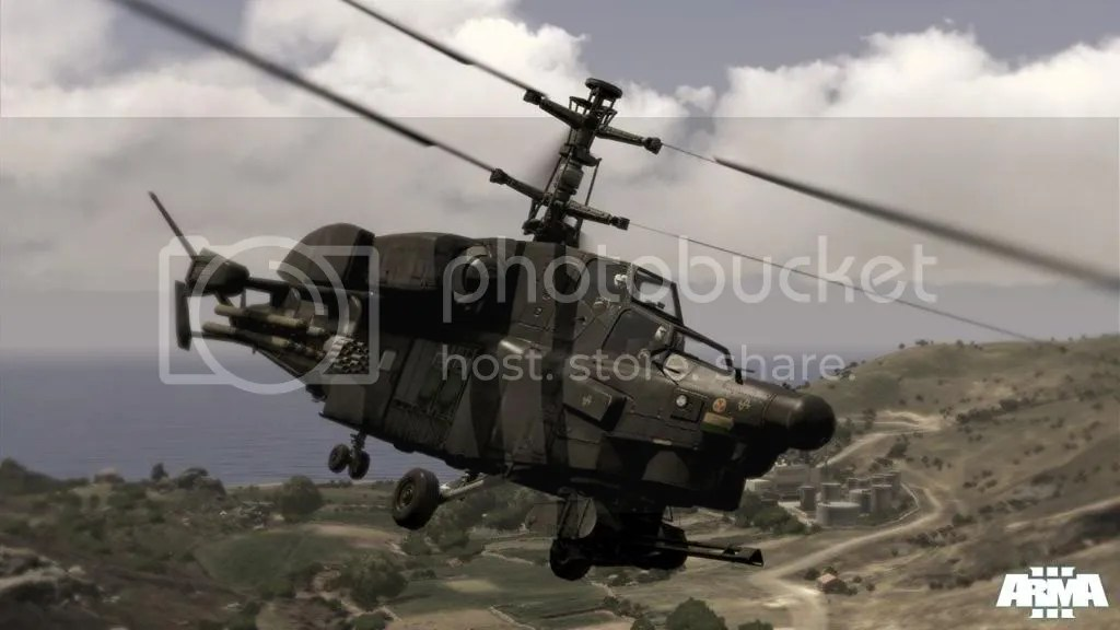 In ARMA 3, you can fly this