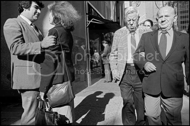 Bruce Gilden Street Photography